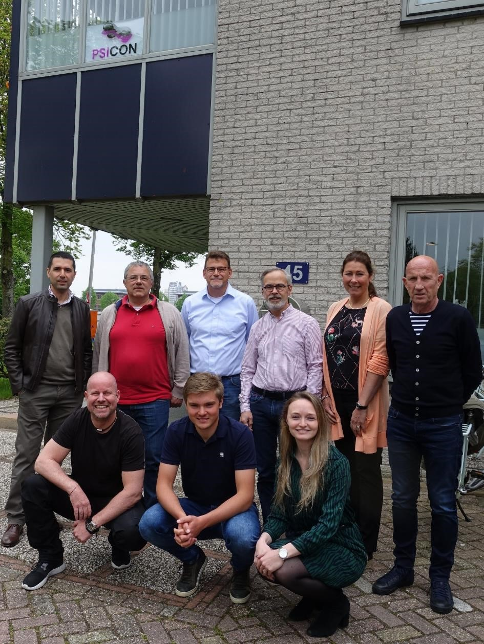 Psicon team welcomes new colleagues