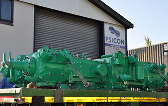 PSICON BV upgraded and modified the AQ2400 compressor in September 2015