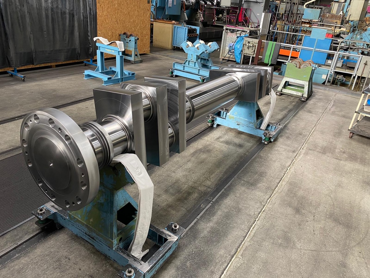 Crankshaft delivered within 14 weeks